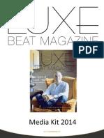 Luxe Beat Magazine Media Kit