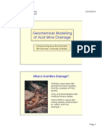 Acid Mine Drainage a a g