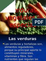 Verduras Vegetales y Especias