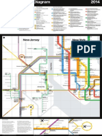 The NY-NJ regional transit map