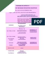 PROGRAMA DEL MÓDULO II ,al 14, 15 y 16 febrero (2)