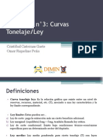Curvas Tonelaje - Ley