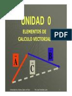 Elementos de Calculo Vectorial