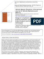 Design of a Hydraulic Anti-lock Braking Modulator and an Intelligent Brake Pressure Controller for a Light