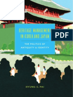 Heritage Management in Korea and Japan