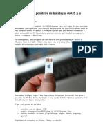 Como criar um pen drive de instalação do OS X a partir do Linux