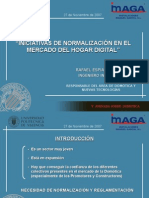 Normalizacion Hogar digital