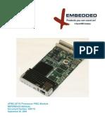 XPMC-6710 Processor PMC Module