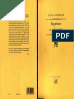 Gilles Deleuze - Emprisme et Subjectivité