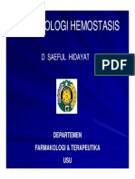His127 Slide Farmakologi Hemostasis