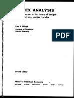 Ahlfors - Complex Analysis