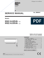 Mitsubishi Msz Hj35va