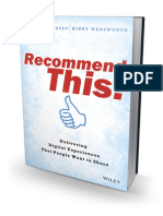 Recommend This! Delivering Digital Experiences that People Want to Share