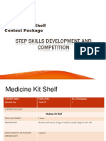 Medicine Kit Shelf Contest Package