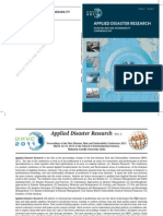 Disaster Risk and Vulnerability DRVC2011