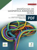 ENSEÑANZA DE GRAMÁTICA AVANZADA PARA biblet_2389