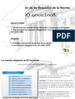 Requisitos ISO 9001 2008