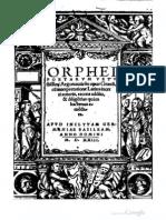 Orpheos Argonautika (Basileae 1523)