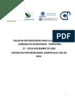 TALLER DE METODOLOGÍAS PARALA MEDICIÓNDE