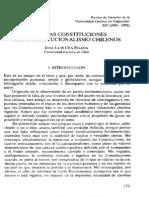 Ensayo Sobre El Constitucionalismo Chileno