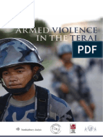 Armed Violence in Terai
