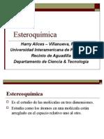 presentación  de esteroquímica