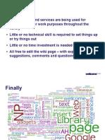 Web 2 presentation wrap up