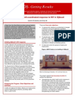 An effective, well-coordinated response to HIV in Djibouti (2006)
