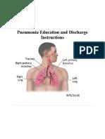 Microsoft Word - Pneumonia Education English