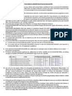 Instructivo Para El Registro de Actas de Notas via Web 2013-1 Resumen