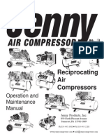 Jenny Compressor Manual