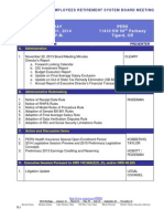 OREGON PUBLIC EMPLOYEES RETIREMENT SYSTEM BOARD MEETING PACKET