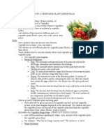 parts of a vegetable plant lesson pdf