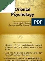 Oriental Psychology