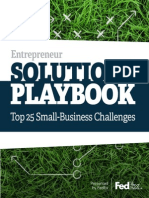 Entrepreneur Solutions Playbook Fedex