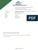 Programación analítica verano 2014