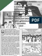 HOJITA EVANGELIO DOMINGO LA PRESENTACIÓN DEL SEÑOR BN