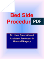 Surgical Bed Side Proceduress