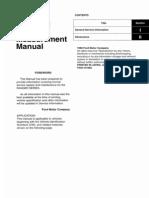 2006 Manual de Medidas de Carroceria y Chasis Ranger Courier