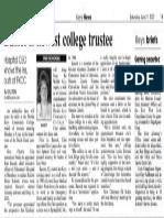2007-07-21 KN Bassett FKCC Trustee