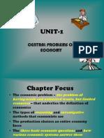 Unit-1,Central Problem of Economy, b.com-1
