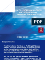 Isa 700 Audit Opinion
