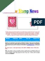 Rainbow Stamp News February 2014