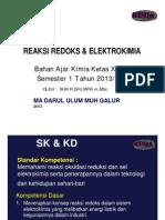 Bahan Ajar Redoks & Elektrokimia