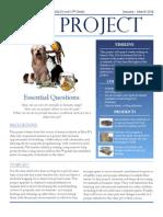 Pet Project - Project Description 2014