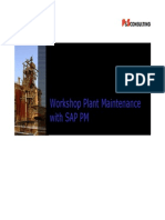 Workshop on SAP PM