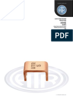 HTR India - Products - Current Sense Resistors - Electron Beam Welded - HHE (English)
