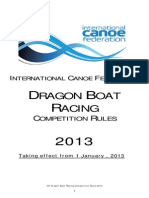 Dragon Boat Rules 2013