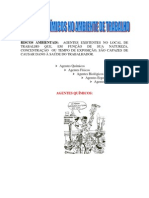 Classificação Agentes Químicos