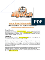 DJUAN Productions Track Leasing Agreement